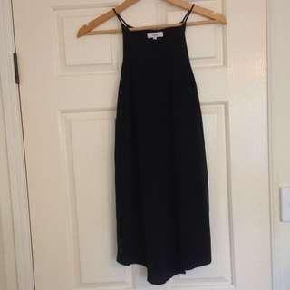 Princess Polly Black Slip Dress
