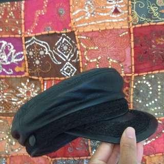 Rare Leather Fisherman Hat