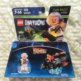 Sony Playstation PS4 Lego Dimensions Fun Pack (Back To The Future)