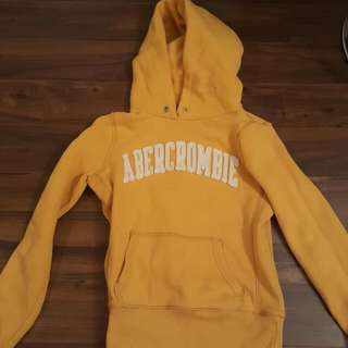 Yellow Abercrombie And Fitch Sweater
