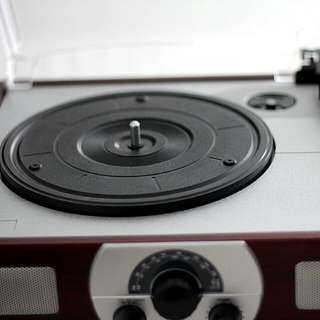 Simplistic Record Player