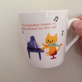 Cute Daiso Glass Cup