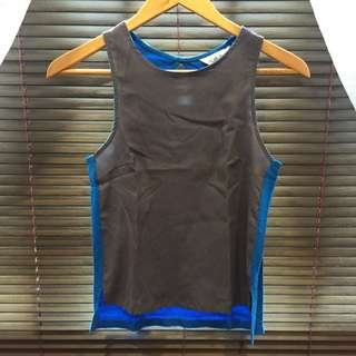 Colour Block Tank Top