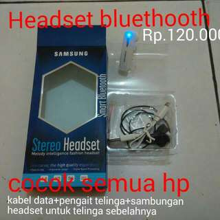 Headset Bluethoot