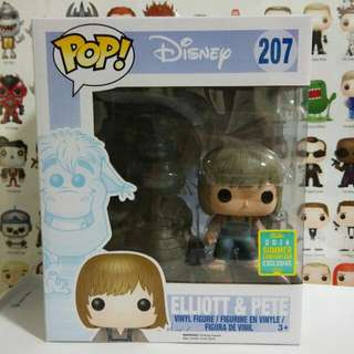 * Damaged Box Clearance Sale * Funko Pop Elliott And Pete 2016 Summer Convention Exclusive Vinyl Figure Collectible Toy Gift Disney SDCC