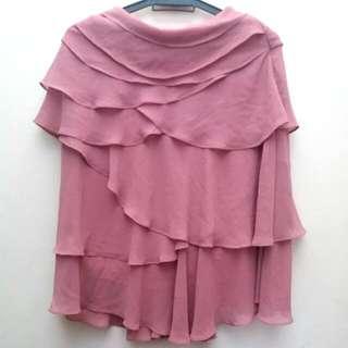 AcRosier Chiffon layered Skirt
