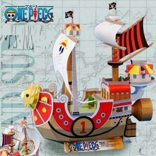 THOUSAND SUNNY (ONE PIECE) PAPERCRAFT