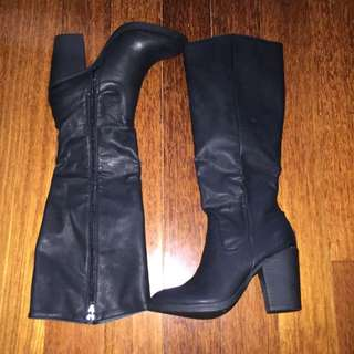 Spurr Boots (Black) Size 7
