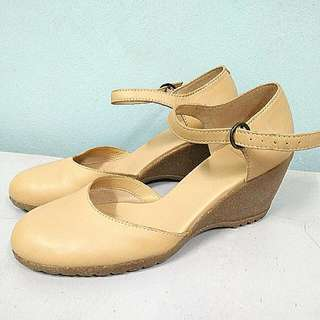 Clarks Wedge Court Shoes