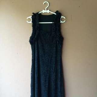 Black Party Dress Gaun Hitam buat Pesta