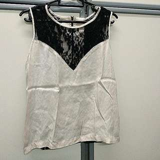 Topshop Lacey Top