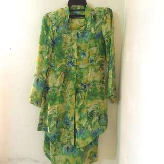Green Kebaya