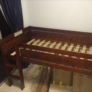 Whistler Junior (Single) Loft (Midsleeper or Captain) Bed