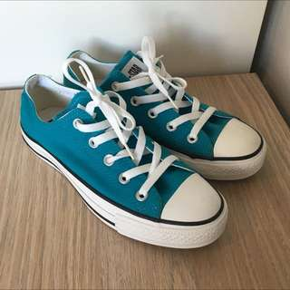 Converse All Star Size 6, Teal - Brand New