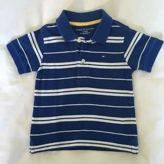 Tommy Hilfiger Toddler Boys Polo Tee Size 12m