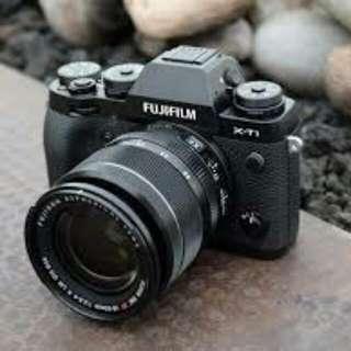 Fujifilm XT1 And XF 18-55mm