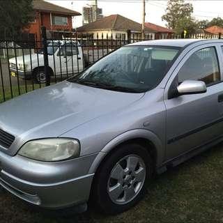 2004 Holden Astra CD TS Auto