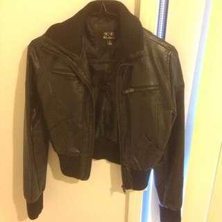 ICE leather jacket