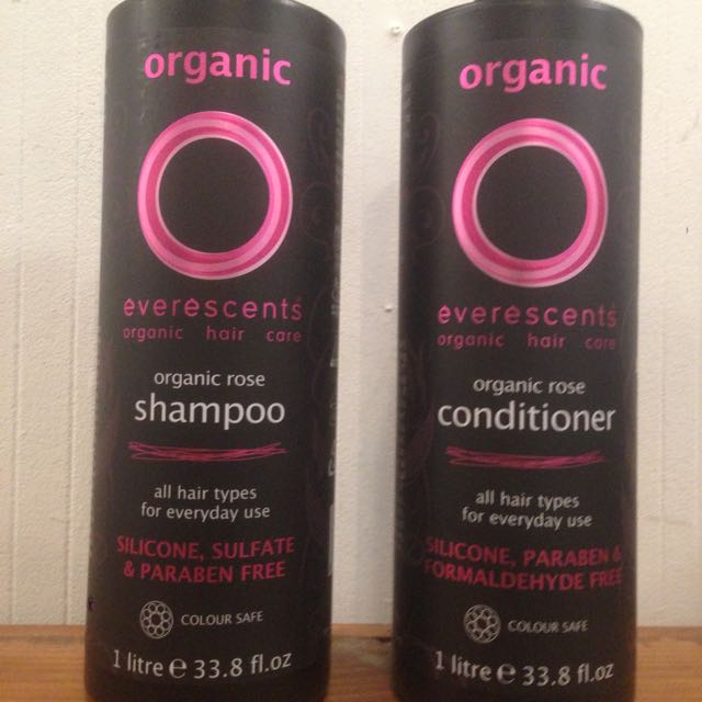 1L Pump Bottles Everescents Shampoo And Conditioner