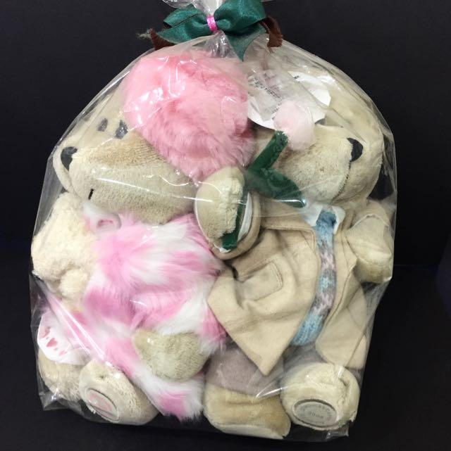 星巴克2006年情人節限定熊寶寶