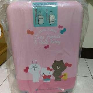 Line Friends x Hello Kitty 24吋行李箱