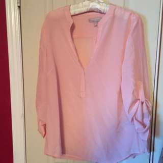 New Banana Republic Silk Blouse