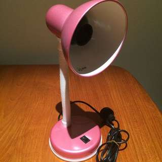 Pink Desk Lamp