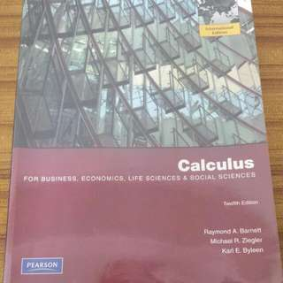 Calculus Textbook Twelfth Edition SMU