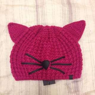 karl lagerfeld Pink Knit Cat (保留)