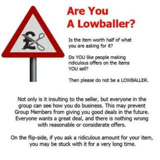 Don't Be A Low Baller