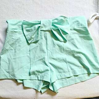 Medium Mint Green Shorts