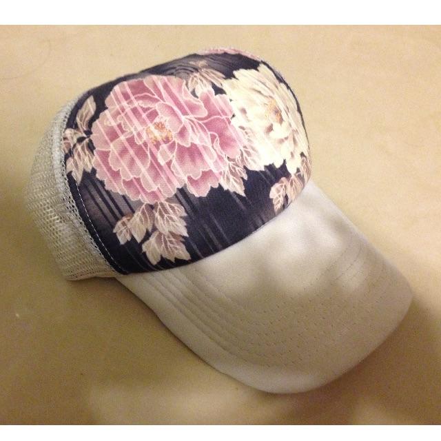 牡丹花潮流鴨舌帽/棒球帽