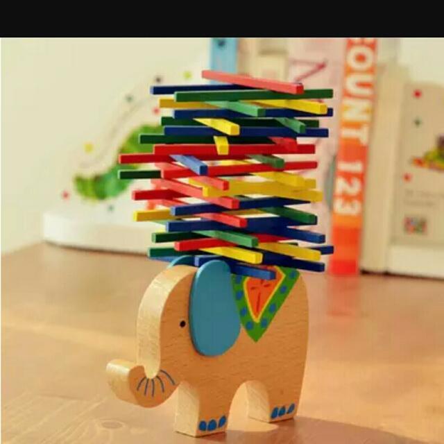 大象堆疊遊戲