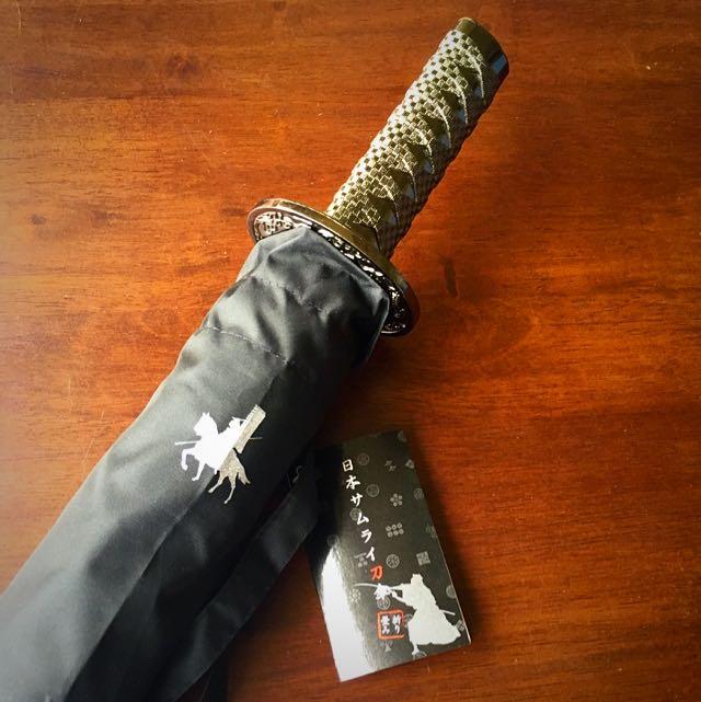 (保留中)武士刀造型雨傘