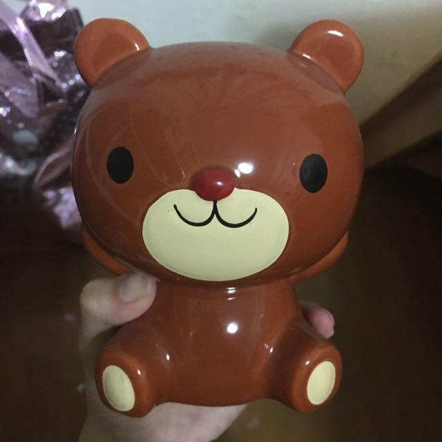 小熊存錢筒