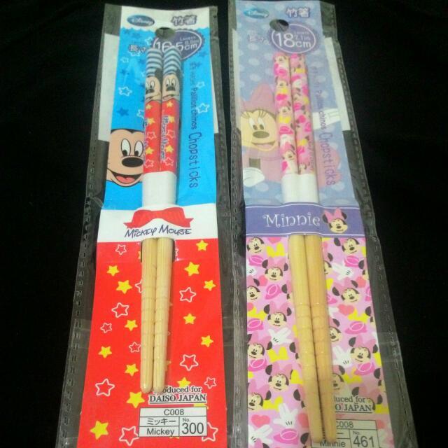 Disney 迪士尼~米奇/米妮筷子
