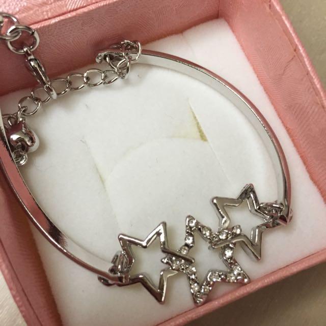 銀色 星星✨手鍊