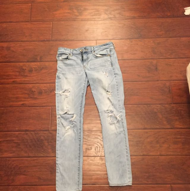 American Eagle Ripped Jeans