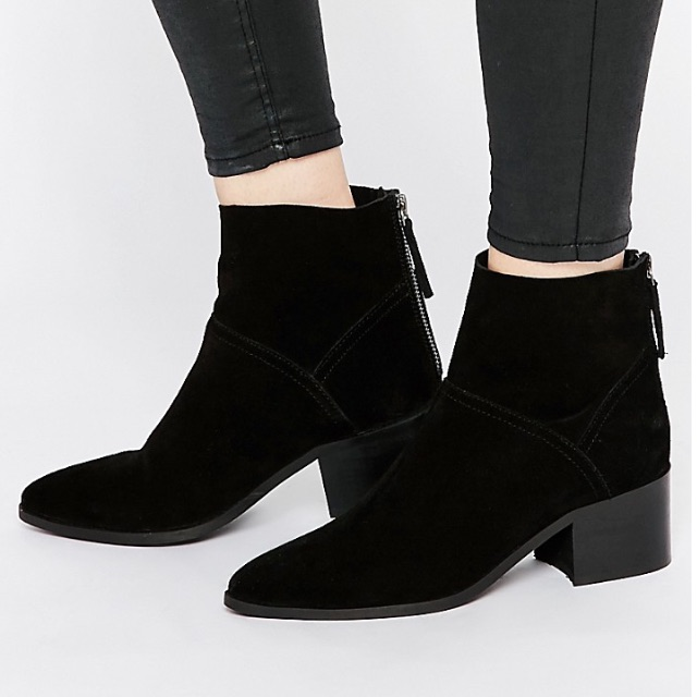 ASOS Suede Ankle Boots