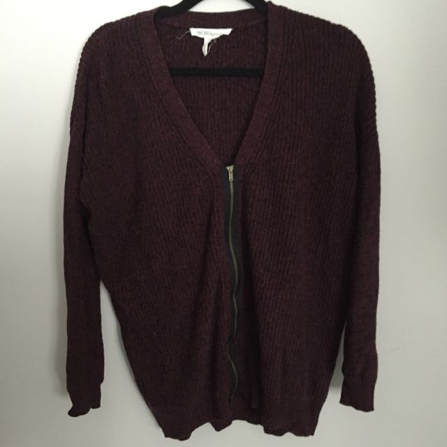 BCBG Zipper Sweater