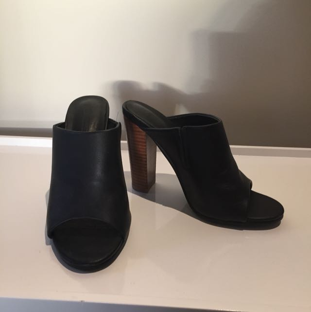 Black French Connection Heels