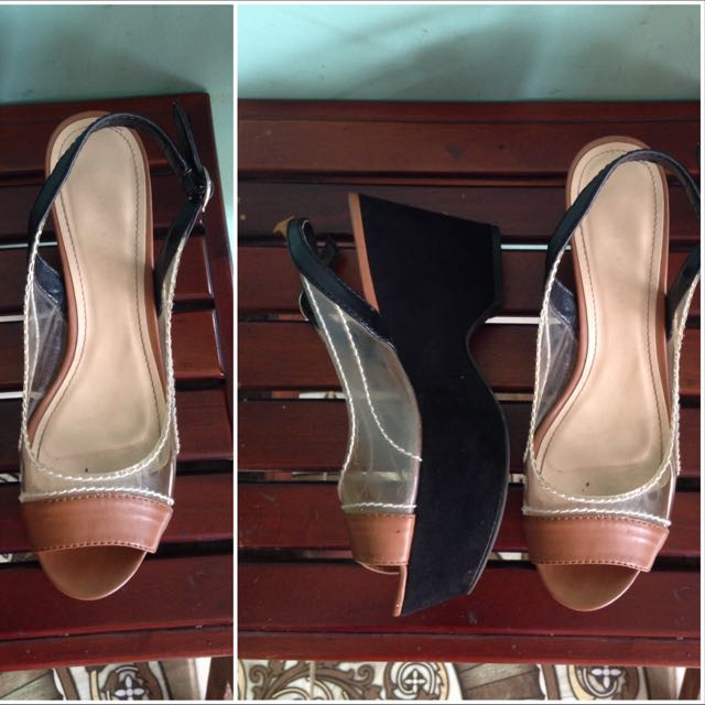 Charles & Keith High Wedges