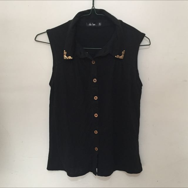 Chicabooti Collared Top