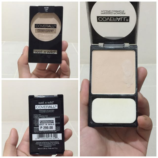 COVERALL PRESSED POWDER IN LIGHT PALE