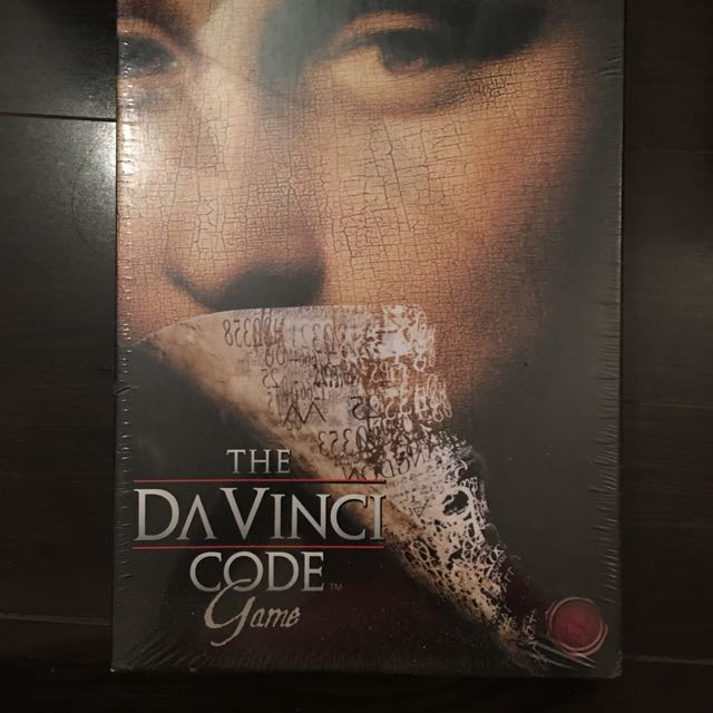 DaVinci Code game. New In Packaging