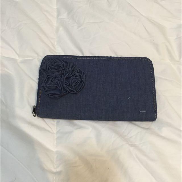 Denim Wallet (Brand New)