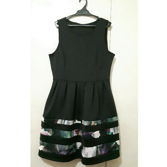 Plus Size Little Black Dress (Office wear, cocktail dress)