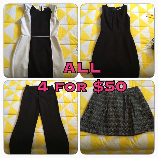 Dress Pants Skirts Size 10 / Medium