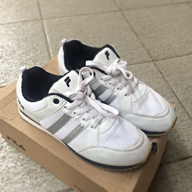 SALE!!! FILA Running Shoes White