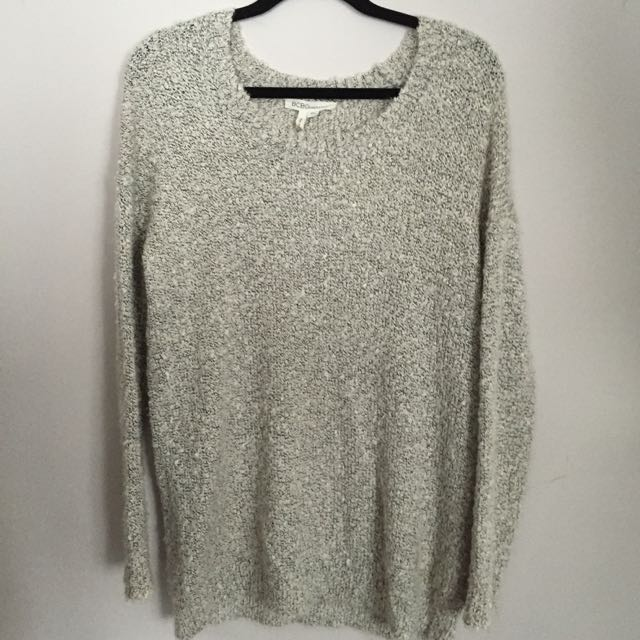 Grey BCBG Sweater